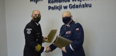 Pomorskie: wojsko pomoże policji. Porozumienie Komendanta Wojewódzkiego z Wojskami Obrony Terytorialnej-6536