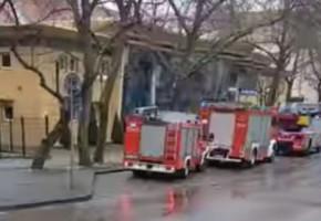 Sopot: interwencja straży pożarnej przy ulicy Goyki. Co działo się na Hali Stulecia?-7143