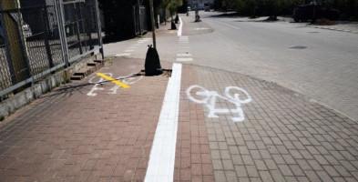 Sopot: Zamiana ścieżki rowerowej z chodnikiem przy ul. Rzemieślniczej-8675