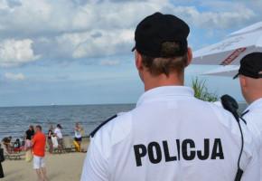 """Policja w Sopocie: """"Uważajmy nad wodą. Nie zawsze los daje drugą szansę""""-9118"""