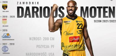 """Darious Moten zostaje w Sopocie! """"Jest atletycznym, dobrym obrońcą""""-9236"""
