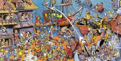 Puzzle z bohaterami Janusza Christy! Sprzedano już ponad 600 egzemplarzy-9265