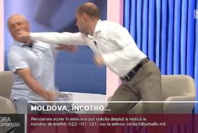 Były minister znokautowany w telewizji! Powalił go prawy prosty [WIDEO]-9651