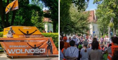 """""""Będziemy musieli oddzielić się od zmodyfikowanych istot"""". Strażnicy Wolności przyjechali do Sopotu-9658"""