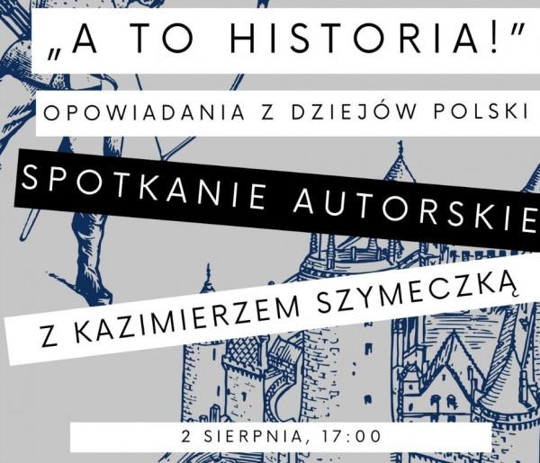 """""""A to historia!"""" - opowiadania z dziejów Polski. Spotkanie autorskie w Sopotece-9715"""