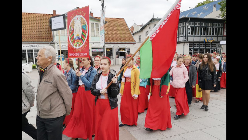 Parada chórów Sopot - Festiwal Mundus Cantat