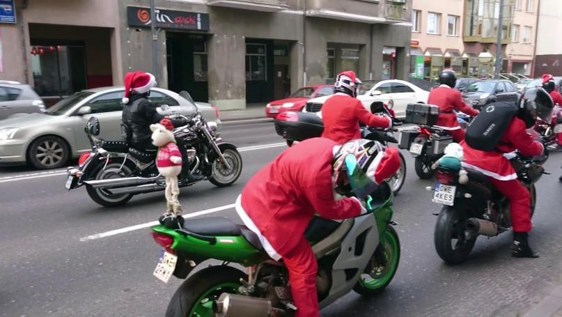 XVII. Mikołaje na Motocyklach 1.12.2019 | Sopot