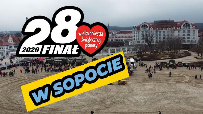 Czołgi na plaży, czyli WOŚP gra w Sopocie