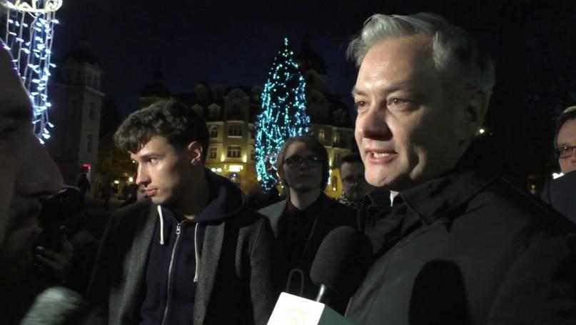 Robert Biedroń w Sopocie - Ruszyła kampania prezydencka 2020 [VIDEO]