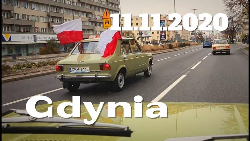 11 Listopada 2020 parada  Dziabnięte Świnie Fiat 1