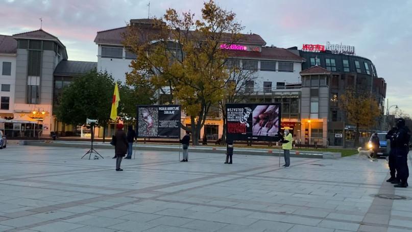 Sopot: pikieta antyaborcjonistów w centrum miasta