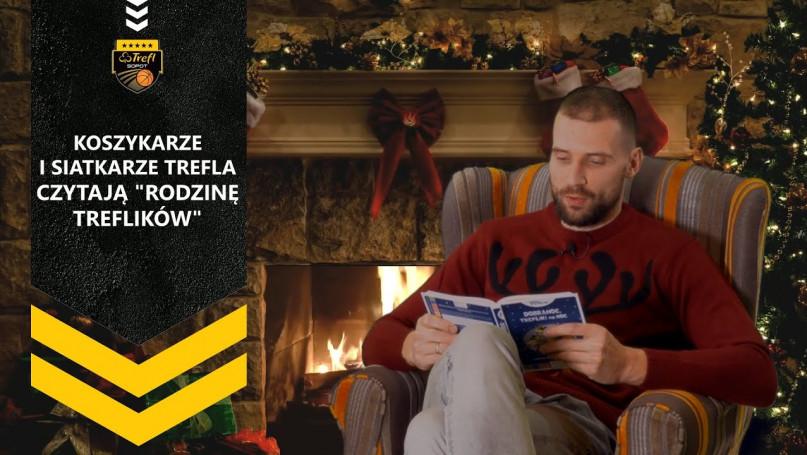 """Sportowcy czytają \""""Rodzinę Treflików\"""""""