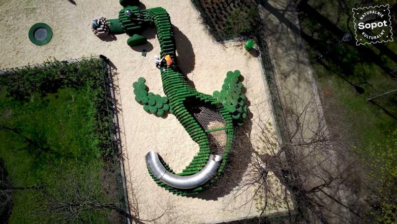 Gród Milusia - otwarcie placu zabaw