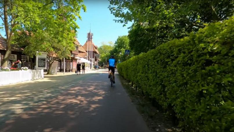 Z Sopotu do Gdańska na rowerze [WIDEO]