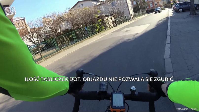 Remont po Sopocku - objazd Pasa Nadmorskiego